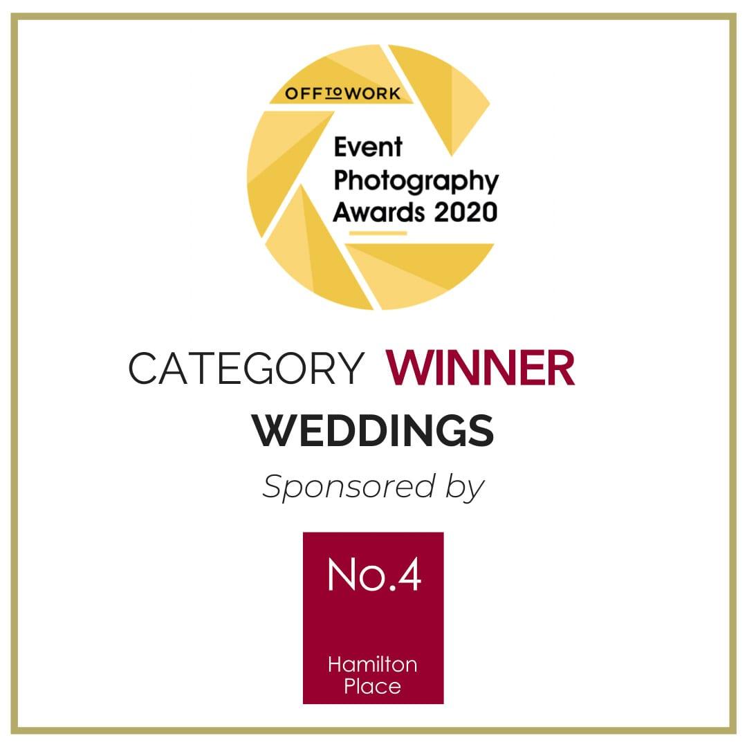 Wedding Photographer of the Year UK